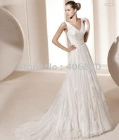 2013 Hot Sale  Free Shipping  sleeveles Wedding Dress bridal gown wedding gown bridal dress