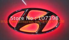 option one,car logo light for HYUNDAI Elantra,car badge light,auto led light,auto emblem led lamp(China (Mainland))