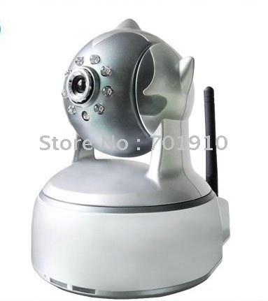 Mulit-function ip camera infrared Camera Network Camera ptz Wireless WiFi IP camera with two way audio wifi NC540W 1pcs(China (Mainland))