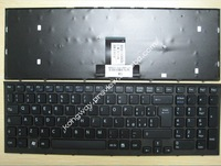 Free Shipping 148793051 for SONY VPC EB with frame Series Black 148793051 MP-09L26I0-886 Italy keyboard