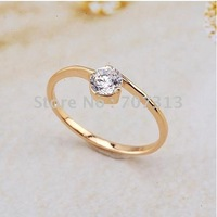 fashion jewelry women 18k yellow gold filled dignity ring ring jewelry jewellry ring charm gift ring