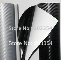 air free bubble 3D fiber carbon 3d carbon fiber vinyl wrap 3d carbon fiber vinyl film Low price Free shipping cfvw30m