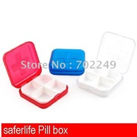 4 compartments pill box medicine box promotional box plastic Premium Pill Identifer
