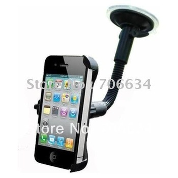 wholesale free shipping Car mount holder for iphone 4G with plastic mat for iphone 4G ,car holder for iphone4,wholesale price