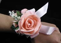freeshipping wholesale and retail Junior Prom corsage wrist corsage wrist flower bridesmaid accessories bridal accessories C02P