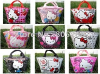 9CS New Hello kitty cute lunch bag Girls Handbag #A