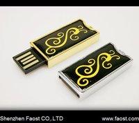 New fashional design enamel usb flash drive