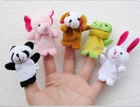 Plush Animal Finger Puppet+Finger Wear Toys+Plush Toys+Animal Finger Puppet+Fast delivery+Free shipping