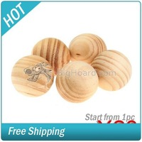 100 Fragrant Cedar Wood Moth Balls Protection  #003821-027