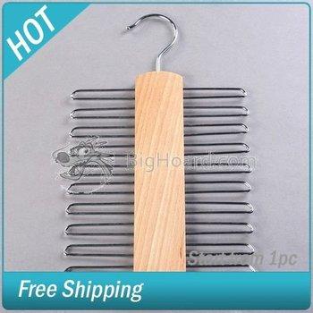 Wooden Tie Hanger - 20 Ties  #003821-037