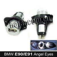 Xenon White LED Angel Eyes Marker Kits for BMW E90 E91