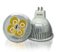 4 Pack Free Fedex DHL 12W VS 80W / 9W VS 50W LED GU10 / E27 / E14 / Gu5.3 CREE dimmable Warm Cool LED lamp LED bulb AC 85-265V