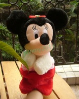 Free Shipping 6pcs New Red Mickey Mouse  preschool child handsock puppet toy  very cute#2