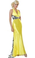 the most fashion free ship latest design halter formal long evening  dress / eveving gown/ party dress /prom dress