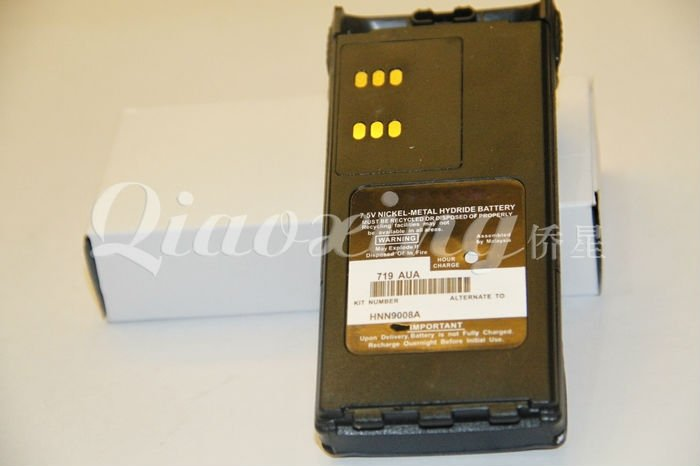 MOTOROLA two way radio battery for GP328/GP338 HNN9008A(China (Mainland))