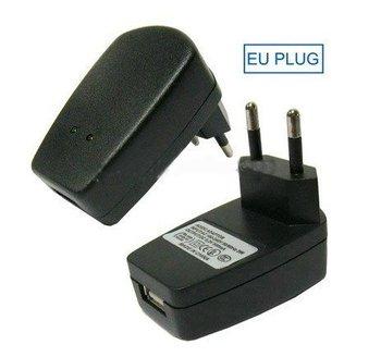Free shipping,EU standard plug Universal USB Travel charger wall charger