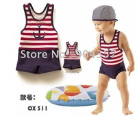 Wholesales Baby kids Children Cute Cartoon Sailor Swimming suit Swimming trunks Outdoors 14pcs/lot