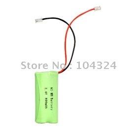 Free Shipping ,Universal Interface 2.4v 800mAh NI-MH battery for cordless phone(NI-MH(2.4v 800))