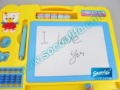 Free shipping magnetic A+B drawing&writing board ,children drawing board