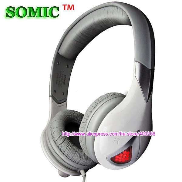 Free shipping! Somic Earphone G945 7.1 surround sound gaming headset Somic headphone USB earphone with microphone(China (Mainland))