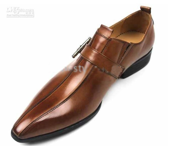 latest mstyle men's shoes dress shoes with calf leather handmade men shoes hot selling48vvvv(China (Mainland))