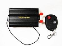 TK103B Car tracker Real time Quadband Vehicle Car Auto GPS Tracker with Remote Control Freeshipping