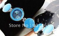 Fashion Ladies Womens Bracelet Wrist Watch With induvidul box package Mix Styles and Colors 20pcs/lot & Free shipping