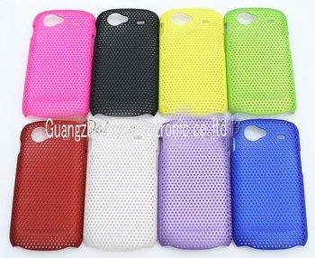 Free Shipping! 100pcs/lot Mesh Net Hard Back Cover Cell phone/Mobile Phone Case For Samsung Google Nexus S I9020