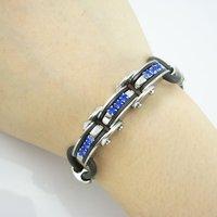 низкая цена нержавеющей стали id браслет стальной браслет ювелирных изделий для человека