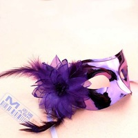 New design of party mask with feather