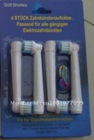 free shipping DHL 200pack=800pcs latest toothbrush head Sb17-4/electric toothbrush head pack of 4 with neutral packing