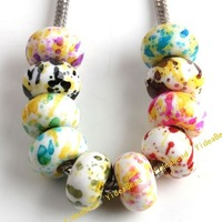 100 Assorted Colorful Acrylic Beads Imitation Pearl Acrylic Charms Beads Plastic Beads Diy 151366