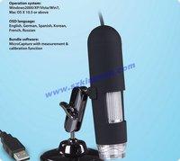 1.3 Mega Pixels USB digital microscope 12pcs/lot