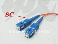 ST-SC, 3.0m ,single mode fiber optic jumper ,wholesale 100pcs/lot
