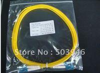 LC-LC, 3.0m ,single mode fiber optic jumper ,wholesale 100pcs/lot