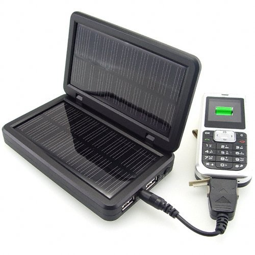 Free shipping high power Solar Charger for Portable Electronics - Green Power(China (Mainland))