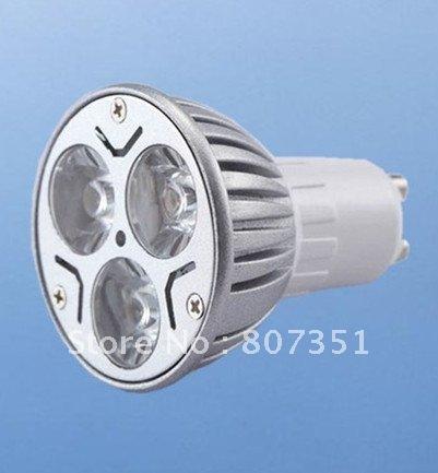 Dimmable MR16 GX5.3 GU5.3 12v 9W 3x3W Rotundity CREE LED Spot Light