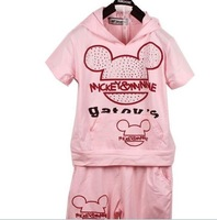 Free shipping childdren suit, Children Clothes/ c/ children Wear 5sets/lot,5 size