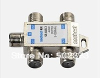 4 way CATV tap-off and splitter