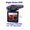 Car IR Night Vision Vehicle Video DVR Recorder Camera 120 degree view angle Freeshipping