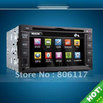 Universal HOT 2 DIN CAR DVD WHIH GPS-Model:ZS-TD622W