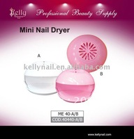 Free shipping 5pcs/lot  Pink Cute DIY  Mini Nail Dryer
