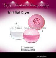 Free shipping 5pcs/lot  Pink Cute DIY  Mini Nail Dryer