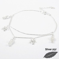 silver foot chain-FS017300310