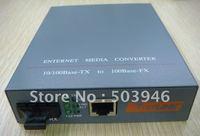 10//100M (25KM), Single-mode Ethernet Media Converter,power built inside