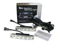 Aluminium housing 12V/10W Auto 5LED LED Daytime Running lamp, LED Daytime Running light 2pcs/lot+China post Free shipping