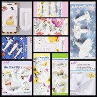 Sugarcraft Super Kit Set Tools Smoother CutterPlunger#5