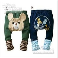 24pcs New Animal Baby Pants Baby Summer Long Pants Toddler Baby pp Short cvd3