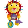 Candice guo! Hot sale super cute baby toy plush toy 10% multifunctional lion yellow lamaze bed hang/bell baby mobile 1pc