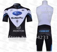 2011 Newest Subaru CYCLING JERSEY AND BIB SHORTS/CYCLING WEAR,WHOLESALE AND RETAIL